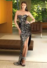 Alyce 6079.  Available in Black, Emerald, Fuchsia, Turquoise
