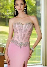 Alyce 6104.  Available in Aqua, Pink, White