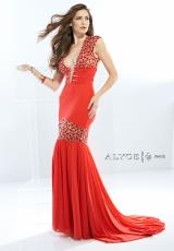 Alyce 2444.  Available in Poppy Red