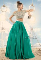 Alyce 2474.  Available in Black, Diamond White, Emerald