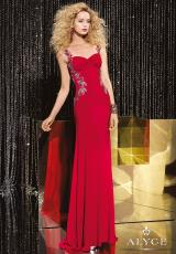 Alyce 5604.  Available in Kiwi, Red