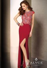 Alyce 5620.  Available in Black, Ivory, Vermillion