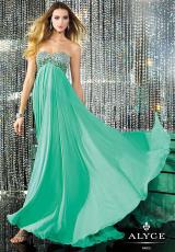 Alyce 6143.  Available in Champagne, Cotton Candy, Lucite