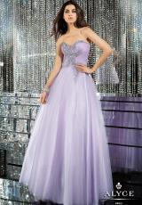 Alyce 6162.  Available in Blue Radiance, Lilac, Pink Coral, White