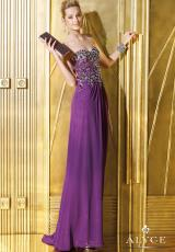 Alyce 6280.  Available in Black, Bright Violet, Hot Pink, White