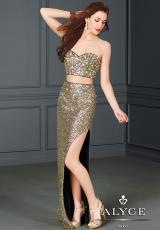 Alyce 6332.  Available in Gold