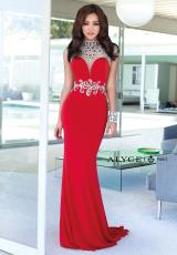Alyce 6393.  Available in Black/Emerald, Red, Royal
