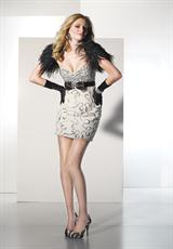 BDazzle 35476.  Available in Ivory/Silver