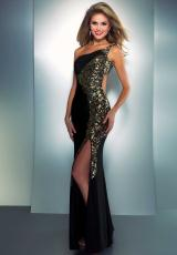 Cassandra Stone 2577A.  Available in Black/Gold, Hot Pink, White/Gold
