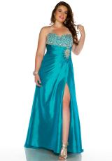 Cassandra Stone II Plus Size 81604K.  Available in Jade, Purple