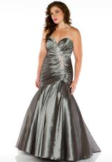 Cassandra Stone II Plus Size 81846K.  Available in Charcoal, Jade
