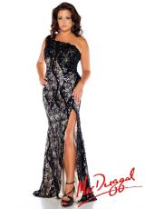 Fabulouss Plus Size 76624F.  Available in Black/Nude