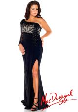 Fabulouss Plus Size 76625F.  Available in Black/Nude