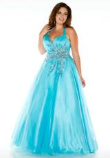 Fabulouss Plus Size 81792F.  Available in Aqua