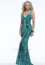 Faviana 6711.  Available in Black, Dark Green, Emerald, Lipstick, Royal, Silver, White