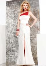 Faviana S7002.  Available in Ivory/Red
