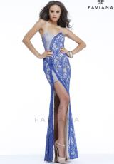 Faviana S7328.  Available in Black/Nude, Denim Blue/Nude, Orchid/Nude