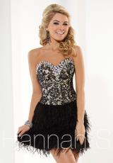 Hannah S 27912.  Available in Black/Nude, Royal/Nude