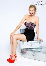 JVN by Jovani JVN20386.  Available in Black, Purple, Red