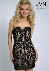JVN by Jovani JVN20426.  Available in Black, Peach