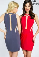 JVN by Jovani JVN21031.  Available in Black, Fuchsia , Grey , Red, Royal