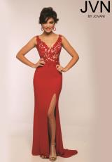 JVN by Jovani JVN22426.  Available in Beige, Red/Nude