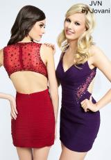 JVN by Jovani JVN90361.  Available in Burgundy , Hot Pink, Purple, Taupe