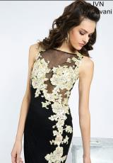 JVN by Jovani JVN93609.  Available in Black/Gold