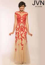 JVN by Jovani JVN94001.  Available in Red/Nude