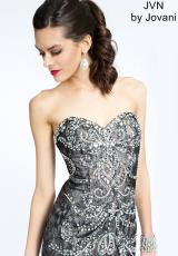 JVN by Jovani JVN98605.  Available in Black/Silver