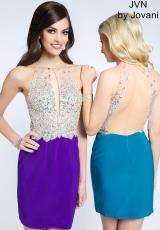 JVN by Jovani JVN99396.  Available in Black, Purple, Teal