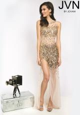 JVN by Jovani JVN21738.  Available in Nude