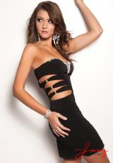 Jasz Couture 4701.  Available in Black