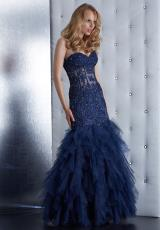 Jasz Couture 4920.  Available in Navy, Olive, Red