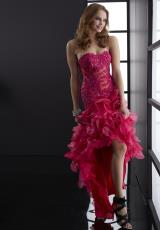 Jasz Couture 5088.  Available in Fuchsia, Royal