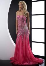 Jasz Couture 5096.  Available in Fuchsia, Gold