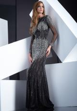 Jasz Couture 5311.  Available in Black/Gunmetal, Red