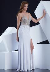 Jasz Couture 5338.  Available in Black, Turq, White