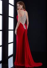 Jasz Couture 5462.  Available in Black, Red, Royal
