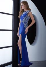 Jasz Couture 5464.  Available in Black, Royal, White