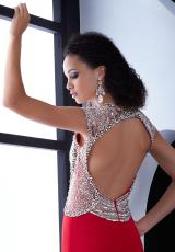 Jasz Couture 5477.  Available in Black, Red, Turq