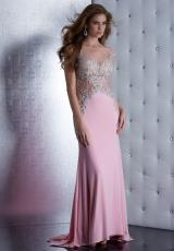 Jasz Couture 5478.  Available in Pink, White