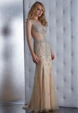 Jasz Couture 5486.  Available in Navy, Nude