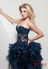 Jasz Couture 4809.  Available in Fuchsia, Gold, Midnight