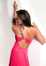 Jasz Couture 4814.  Available in Coral, Fuchsia