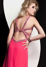 Jasz Couture 4915.  Available in Fuchsia, Vanilla