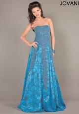 Jovani 3652.  Available in Ivory/Gold, Turquoise