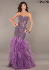 Jovani 1267.  Available in Beige, Purple