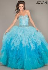 Jovani 6708.  Available in Hot Pink/Ombre, Turquoise/Ombre 