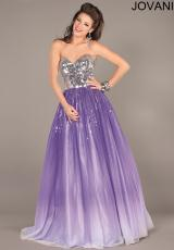 Jovani 6432.  Available in Coral/Ombre, Purple/Ombre
